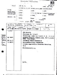 Auslieferungsdokument